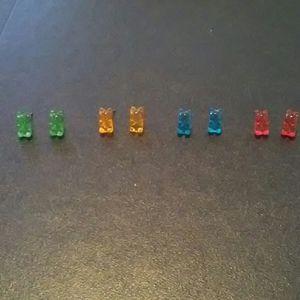 Bear earrings for Girls